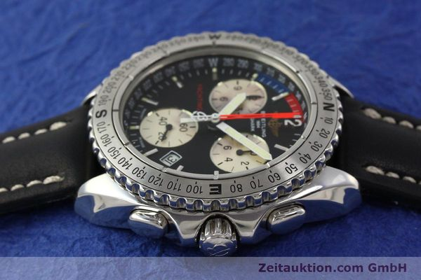 Used luxury watch Breitling Yachting chronograph steel quartz Kal. B53 ETA 251.262 Ref. A53606  | 150265 05