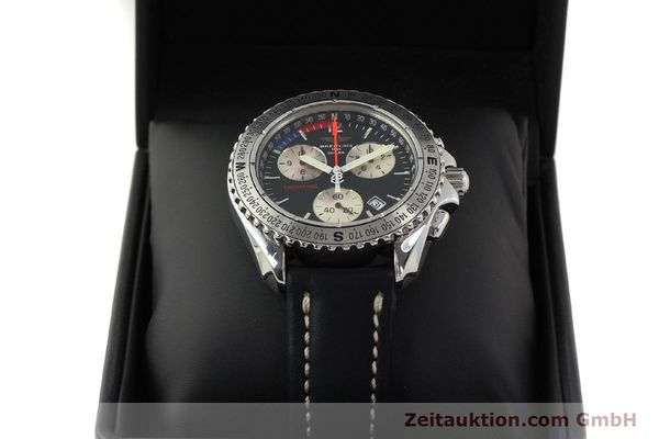 Used luxury watch Breitling Yachting chronograph steel quartz Kal. B53 ETA 251.262 Ref. A53606  | 150265 07