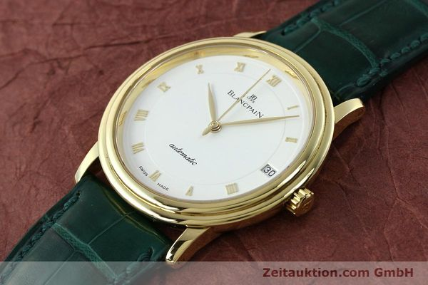 Used luxury watch Blancpain Villeret 18 ct gold automatic Kal. 11.51  | 150271 01