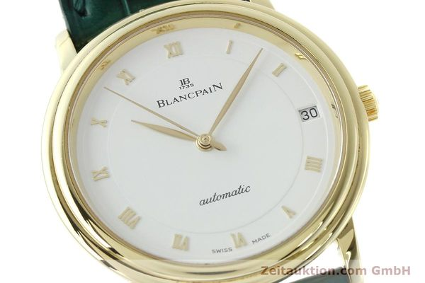 Used luxury watch Blancpain Villeret 18 ct gold automatic Kal. 11.51  | 150271 02