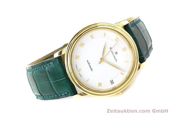 Used luxury watch Blancpain Villeret 18 ct gold automatic Kal. 11.51  | 150271 03