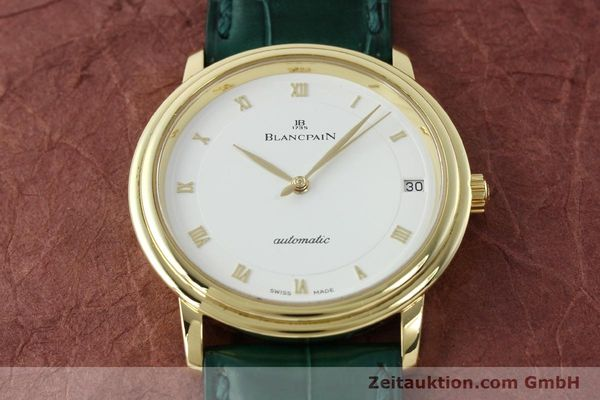Used luxury watch Blancpain Villeret 18 ct gold automatic Kal. 11.51  | 150271 16