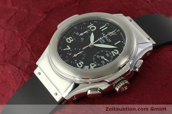 Used luxury watch Hublot MDM chronograph steel automatic Kal. ETA 2892A2 Ref. 1810.1  | 150274 01