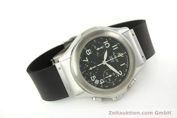 Used luxury watch Hublot MDM chronograph steel automatic Kal. ETA 2892A2 Ref. 1810.1  | 150274 03