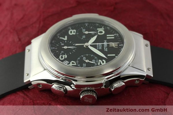 Used luxury watch Hublot MDM chronograph steel automatic Kal. ETA 2892A2 Ref. 1810.1  | 150274 05
