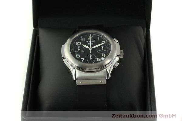 Used luxury watch Hublot MDM chronograph steel automatic Kal. ETA 2892A2 Ref. 1810.1  | 150274 07