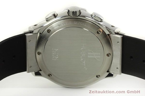 Used luxury watch Hublot MDM chronograph steel automatic Kal. ETA 2892A2 Ref. 1810.1  | 150274 09