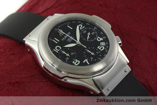 Used luxury watch Hublot MDM chronograph steel automatic Kal. ETA 2892A2 Ref. 1810.1  | 150274 14