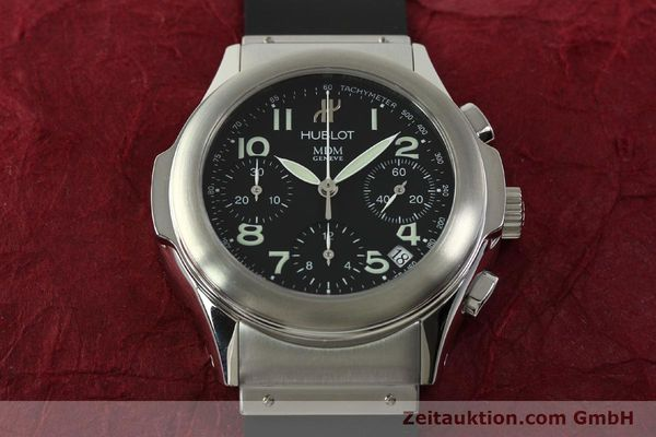 Used luxury watch Hublot MDM chronograph steel automatic Kal. ETA 2892A2 Ref. 1810.1  | 150274 15