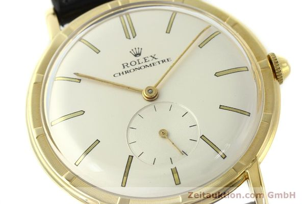 Used luxury watch Rolex * 18 ct gold manual winding Ref. 4325  | 150278 02