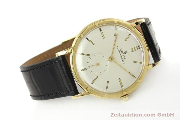 Used luxury watch Rolex * 18 ct gold manual winding Ref. 4325  | 150278 03