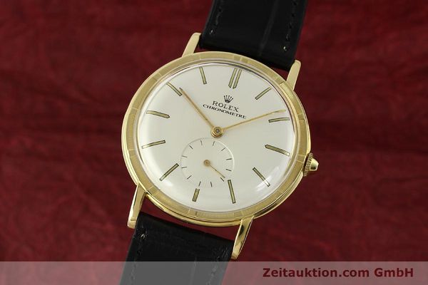 Used luxury watch Rolex * 18 ct gold manual winding Ref. 4325  | 150278 04