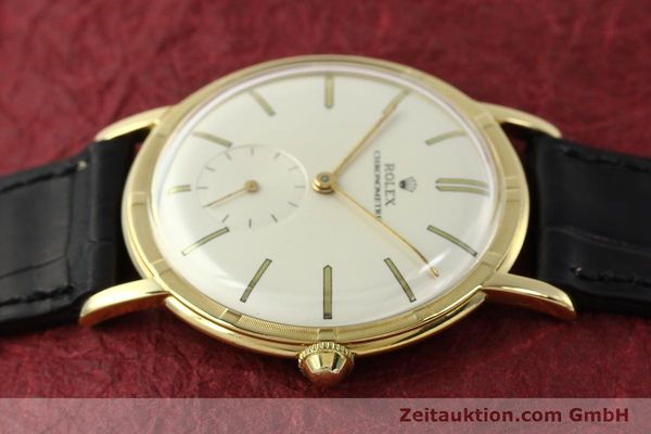 Used luxury watch Rolex * 18 ct gold manual winding Ref. 4325  | 150278 05