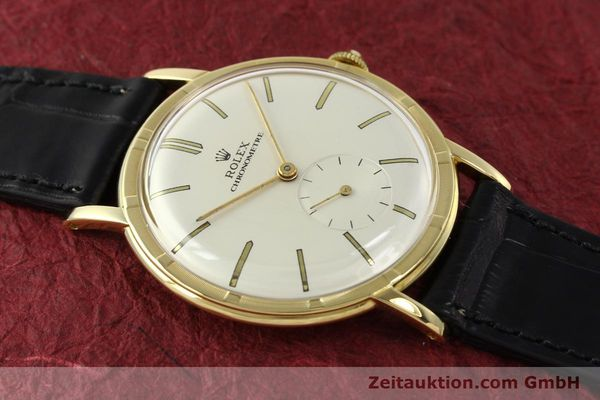 Used luxury watch Rolex * 18 ct gold manual winding Ref. 4325  | 150278 14