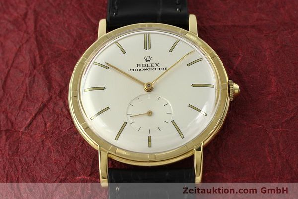 Used luxury watch Rolex * 18 ct gold manual winding Ref. 4325  | 150278 15