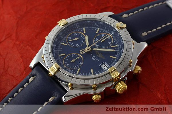 Used luxury watch Breitling Chronomat chronograph steel / gold automatic Kal. B13 ETA 7750 Ref. B13050  | 150283 01