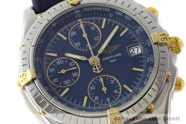 Used luxury watch Breitling Chronomat chronograph steel / gold automatic Kal. B13 ETA 7750 Ref. B13050  | 150283 02