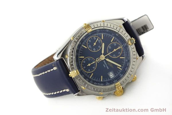 Used luxury watch Breitling Chronomat chronograph steel / gold automatic Kal. B13 ETA 7750 Ref. B13050  | 150283 03