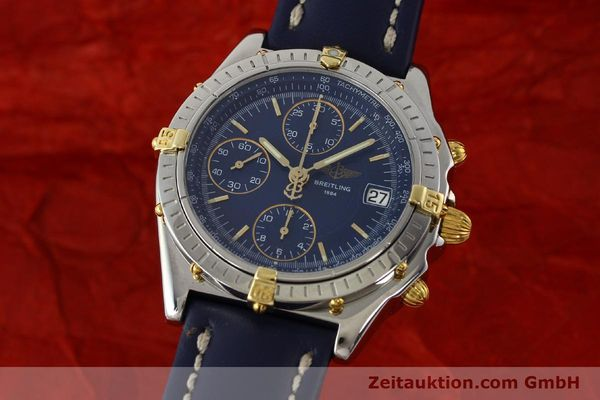 Used luxury watch Breitling Chronomat chronograph steel / gold automatic Kal. B13 ETA 7750 Ref. B13050  | 150283 04