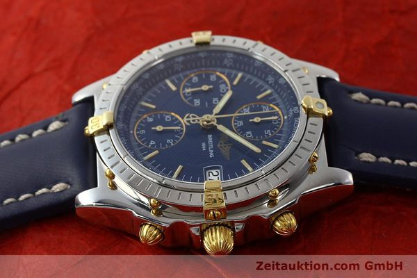 Used luxury watch Breitling Chronomat chronograph steel / gold automatic Kal. B13 ETA 7750 Ref. B13050  | 150283 05