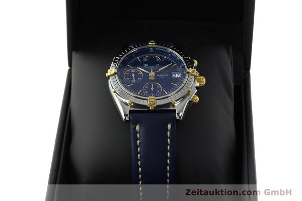 Used luxury watch Breitling Chronomat chronograph steel / gold automatic Kal. B13 ETA 7750 Ref. B13050  | 150283 07