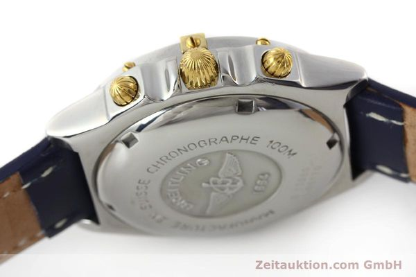 Used luxury watch Breitling Chronomat chronograph steel / gold automatic Kal. B13 ETA 7750 Ref. B13050  | 150283 08