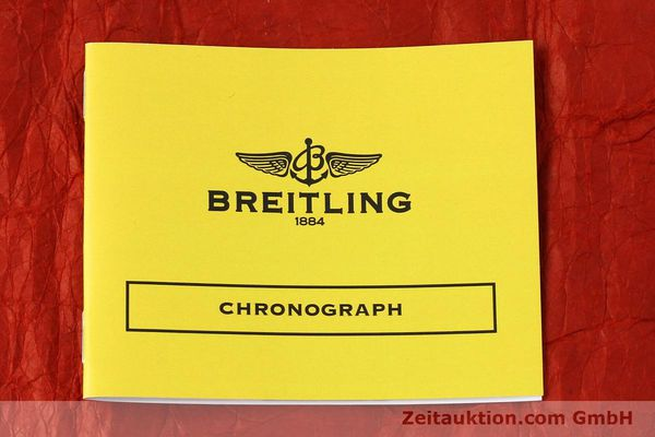 Used luxury watch Breitling Chronomat chronograph steel / gold automatic Kal. B13 ETA 7750 Ref. B13050  | 150283 10
