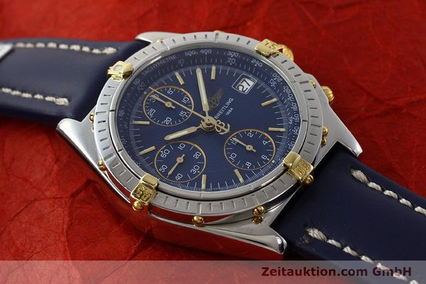 Used luxury watch Breitling Chronomat chronograph steel / gold automatic Kal. B13 ETA 7750 Ref. B13050  | 150283 13