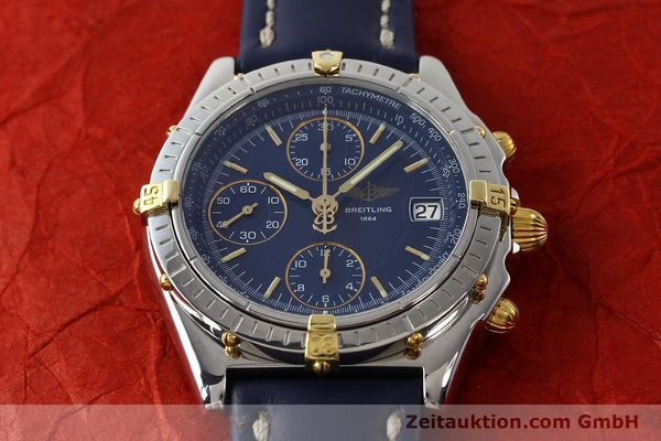 Used luxury watch Breitling Chronomat chronograph steel / gold automatic Kal. B13 ETA 7750 Ref. B13050  | 150283 14