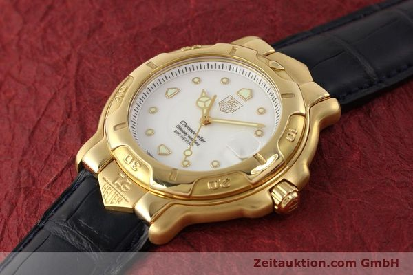 Used luxury watch Tag Heuer 6000 GOLD 18 ct gold automatic Kal. 1.96 ETA 2892A2 Ref. WH514  | 150287 01
