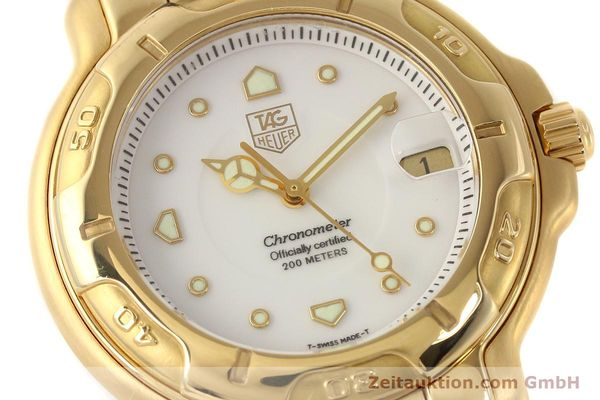 Used luxury watch Tag Heuer 6000 GOLD 18 ct gold automatic Kal. 1.96 ETA 2892A2 Ref. WH514  | 150287 02