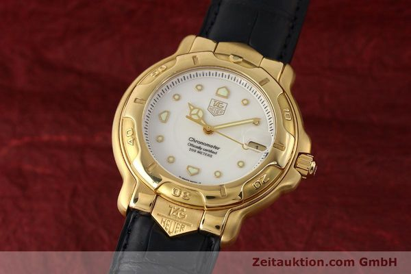 Used luxury watch Tag Heuer 6000 GOLD 18 ct gold automatic Kal. 1.96 ETA 2892A2 Ref. WH514  | 150287 04