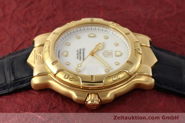 Used luxury watch Tag Heuer 6000 GOLD 18 ct gold automatic Kal. 1.96 ETA 2892A2 Ref. WH514  | 150287 05