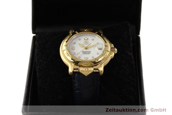 Used luxury watch Tag Heuer 6000 GOLD 18 ct gold automatic Kal. 1.96 ETA 2892A2 Ref. WH514  | 150287 07