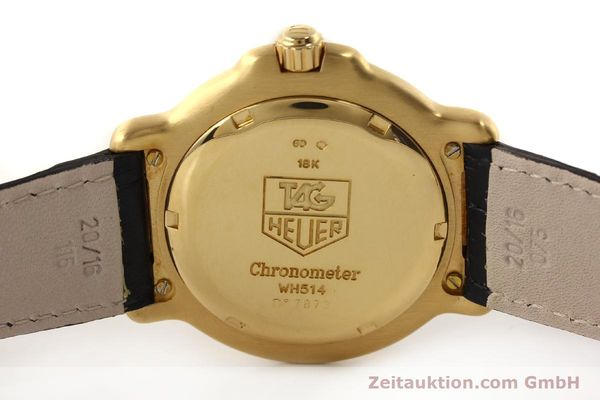 Used luxury watch Tag Heuer 6000 GOLD 18 ct gold automatic Kal. 1.96 ETA 2892A2 Ref. WH514  | 150287 09