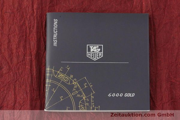 Used luxury watch Tag Heuer 6000 GOLD 18 ct gold automatic Kal. 1.96 ETA 2892A2 Ref. WH514  | 150287 14