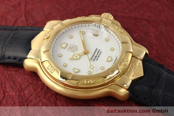 Used luxury watch Tag Heuer 6000 GOLD 18 ct gold automatic Kal. 1.96 ETA 2892A2 Ref. WH514  | 150287 17