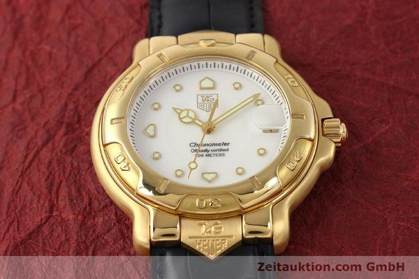 Used luxury watch Tag Heuer 6000 GOLD 18 ct gold automatic Kal. 1.96 ETA 2892A2 Ref. WH514  | 150287 18