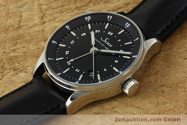 Used luxury watch Sinn Weltzeituhr steel automatic Kal. ETA 2893-2  | 150294 01
