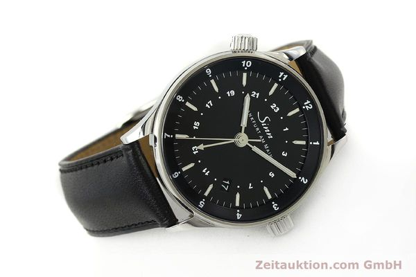 Used luxury watch Sinn Weltzeituhr steel automatic Kal. ETA 2893-2  | 150294 03