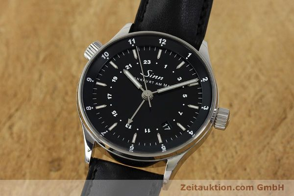 Used luxury watch Sinn Weltzeituhr steel automatic Kal. ETA 2893-2  | 150294 04
