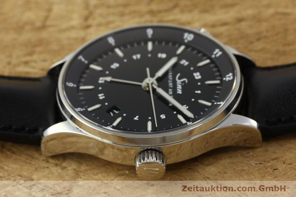 Used luxury watch Sinn Weltzeituhr steel automatic Kal. ETA 2893-2  | 150294 05