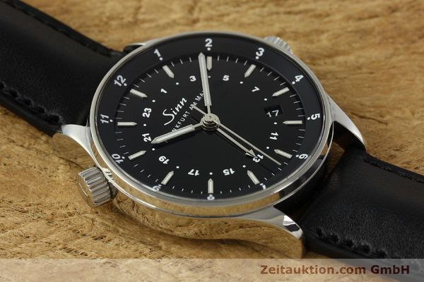 Used luxury watch Sinn Weltzeituhr steel automatic Kal. ETA 2893-2  | 150294 18