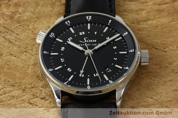 Used luxury watch Sinn Weltzeituhr steel automatic Kal. ETA 2893-2  | 150294 19