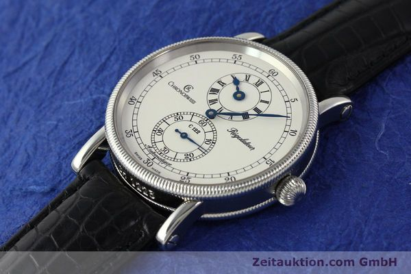 Used luxury watch Chronoswiss Regulateur steel automatic Kal. 122 Ref. CH1223  | 150299 01