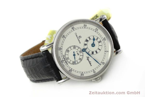 Used luxury watch Chronoswiss Regulateur steel automatic Kal. 122 Ref. CH1223  | 150299 03