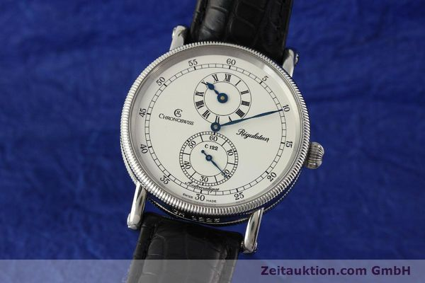 Used luxury watch Chronoswiss Regulateur steel automatic Kal. 122 Ref. CH1223  | 150299 04