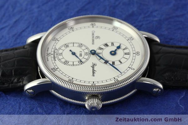Used luxury watch Chronoswiss Regulateur steel automatic Kal. 122 Ref. CH1223  | 150299 05