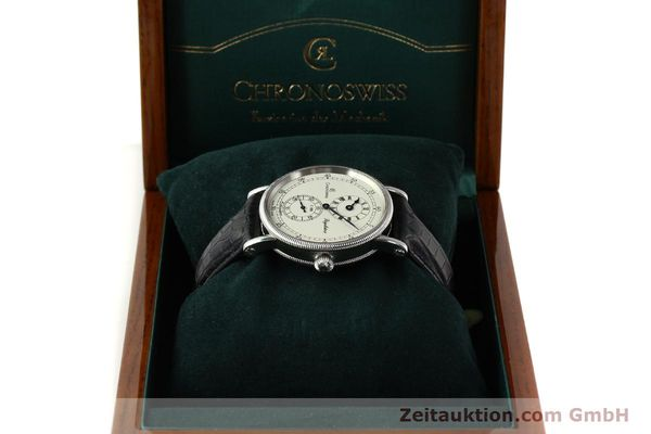 Used luxury watch Chronoswiss Regulateur steel automatic Kal. 122 Ref. CH1223  | 150299 07