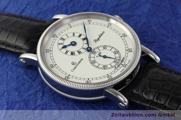 Used luxury watch Chronoswiss Regulateur steel automatic Kal. 122 Ref. CH1223  | 150299 16